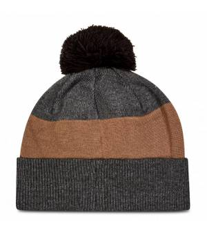 Black Diamond Pom Beanie Smoke / Walnut čiapka