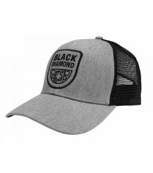 Black Diamond Trucker Hat HeatheredAlu minum šiltovka