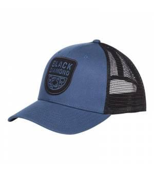 Black Diamond BD Trucker Hat ink blue/black šiltovka