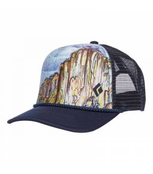 Black Diamond Flat Bill Trucker ElCap šiltovka