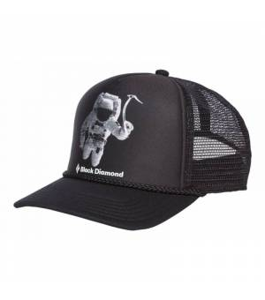 Black Diamond Flat Bill Trucker SpaceshotPrint šiltovka