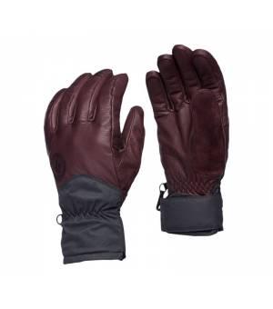 Black Diamond Tour Gloves bordeaux rukavice