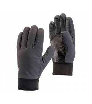 Black Diamond Midweight Softshell Gloves black rukavice