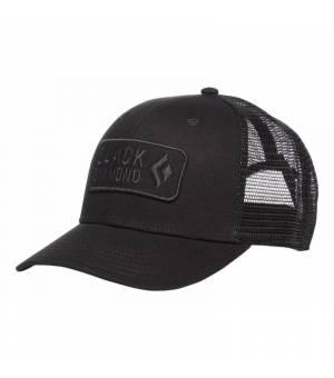 Black Diamond Trucker Hat Black šiltovka