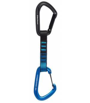 Black Diamond Hotforge Hybrid Quickdraw Karabína 12 cm Modrá