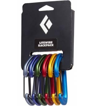 Black Diamond Litewire Rackpack 6 ks Karabín