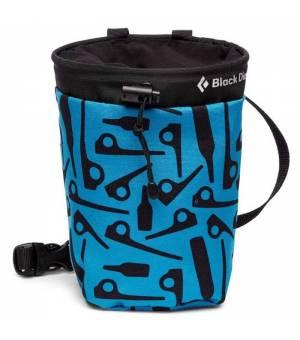 Black Diamond Gym Chalk Bag Vrecko Na Magnézium Modré