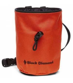 Black Diamond Mojo Chalk Bag Vrecko Na Magnézium Oranžové