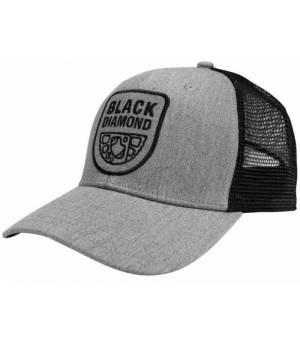 Black Diamond Trucker Hat Šiltovka Sivá