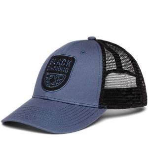 Black Diamond Low Profile Trucker Hat Šiltovka Modrá