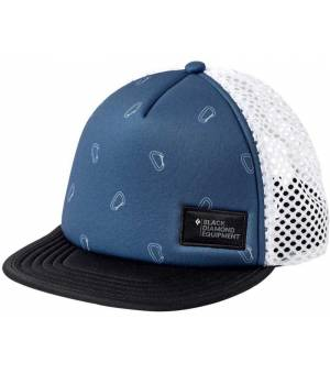 Black Diamond Hideway Trucker Hat Šiltovka Modrá