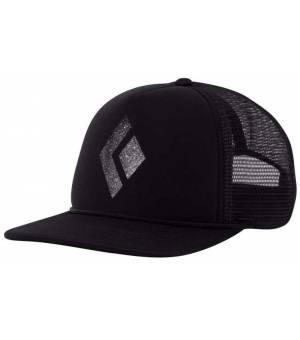 Black Diamond Flat Bill Trucker Hat Šiltovka Black