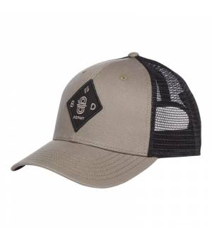 Black Diamond BD Trucker Hat dark flatiron/black šiltovka
