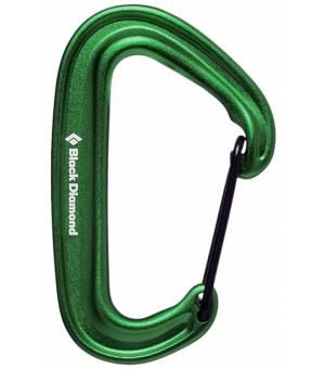 Black Diamond MiniWire Carabiner green karabína