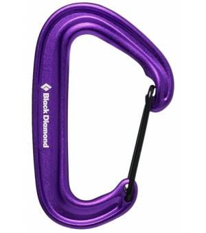 Black Diamond MiniWire Carabiner purple karabína