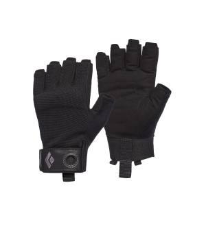 Black Diamond Crag Half-Finger Gloves black rukavice