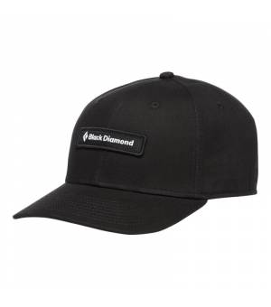 Black Diamond Black Label Hat black šiltovka
