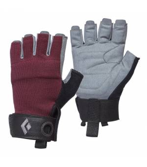 Black Diamond Crag  W Half Finger Gloves bordeaux rukavice