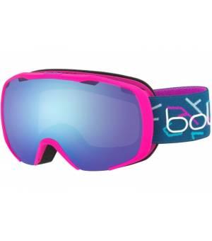 Bolle Royal Pink Blue Matte lyžiarske okuliare