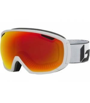 Bolle Tsar White Corp Matte lyžiarske okuliare