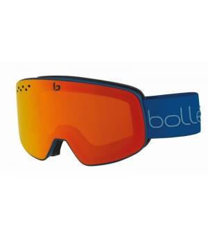 Bolle Nevada Blue Red Diagonal Matte lyžiarske okuliare