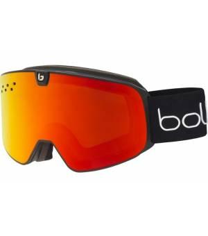 Bolle Nevada Neo Black Matte Sunrise lyžiarske okuliare