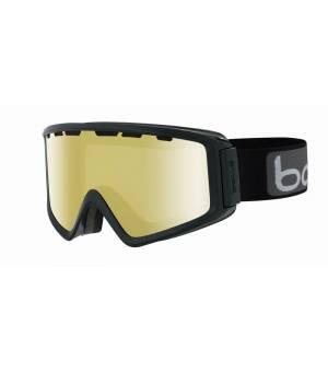 Bolle Z5 OTG Shiny Black Lemon lyžiarske okuliare