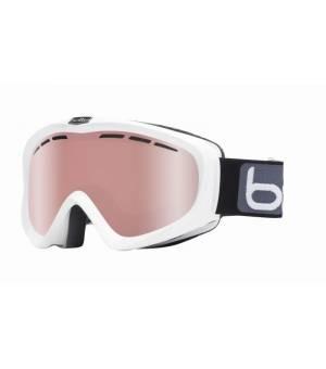 Bolle Supreme Y6 OTG Shiny White Vermillon Gun lyžiarske okuliare