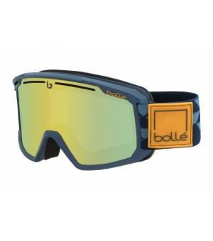 Bolle Maddox Matte Blue Checkerboard Sunshine 20/21 lyžiarske okuliare