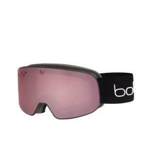 Bolle Nevada Small Black Matte Vermillon lyžiarske okuliare