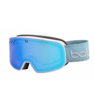 Bolle Nevada Small Pink Blue Matte lyžiarske okuliare