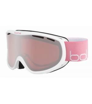 Bolle Sierra Matte White Pink Vermillon Gun lyžiarske okuliare