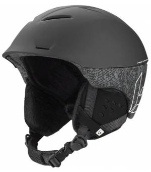 Bolle Synergy Black Matte lyžiarska prilba 54-58 cm 20/21
