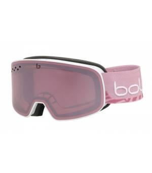 Bolle Nevada Small White Pink Matte lyžiarske okuliare