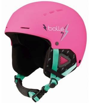 Bolle Quiz Matte Pink Flash lyžiarska prilba 52-55 cm 20/21