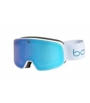 Bolle Nevada Small White Metallic Blue lyžiarske okuliare