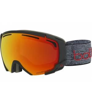 Bolle Supreme OTG Dark Grey Red Matte lyžiarske okuliare
