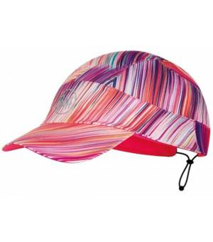 Buff Pack Run Cap Patterned Šiltovka R-Jayla Rose Pink Ružová