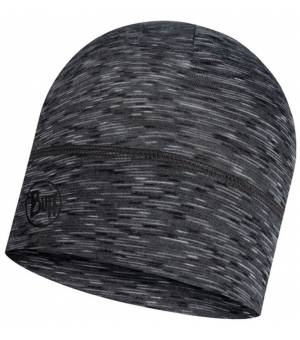 Buff Lightweight Merino Wool Hat Čiapka Graphite Multi Stripes Sivá