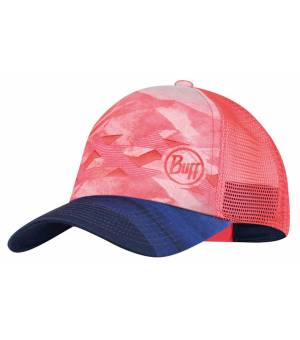 Buff Trucker Cap Šiltovka Amdo Multi Ružová