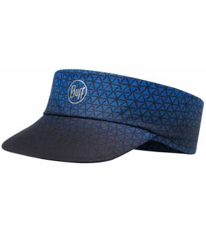 Buff Pack Run Visor Patterned Šilt R-Equilateral Blue