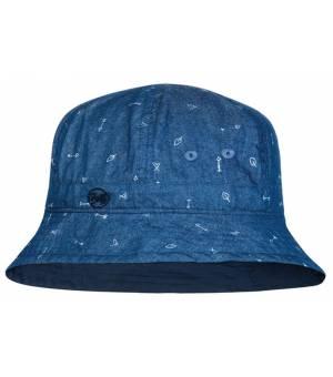 Buff Bucket Hat Kids Klobúk Arrows Denim Modrý