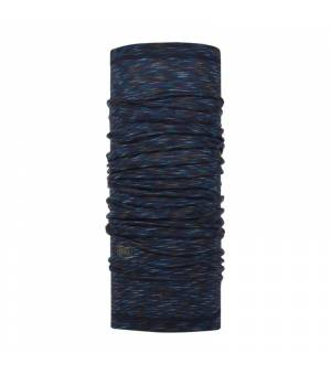 Buff Wool Lightweight Denim Multi Stripes šatka