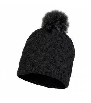 Buff Knitted Polar Caryn Graphite čiapka