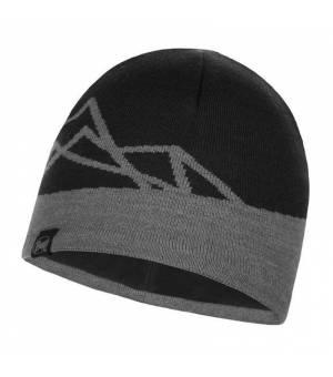 Buff Knitted A Polar Hat Yost Black čiapka