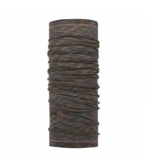 Buff Wool Lightweight Fossil Multi Stripes šatka
