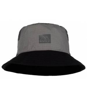 Buff Hak Grey Sun Bucket Hat L/XL klobúk sivý
