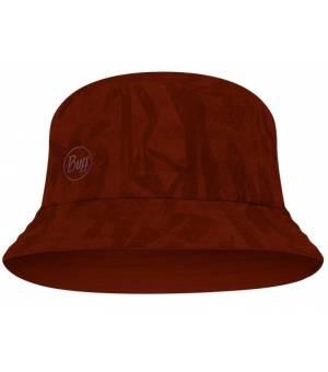Buff Acai Brick Trek Bucket Hat klobúk bordový