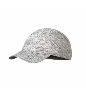 Buff Run Cap Patterned Silver Grey Šiltovka