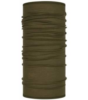 Buff Solid Bark Wool Lightweight šatka hnedá